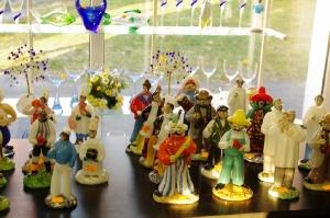 Szklane figurki