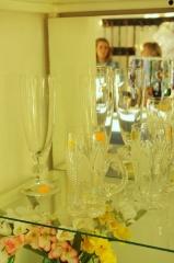 Kryształowe kufle iszklane kielichy