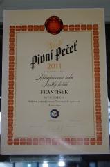 Dyplom dla Frantiska