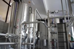 Pomieszczenie fermentowni ileżakowni