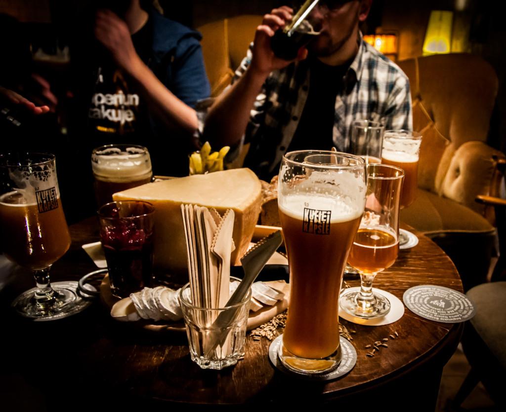Do degustacji prócz piwa było coś jeszcze :)