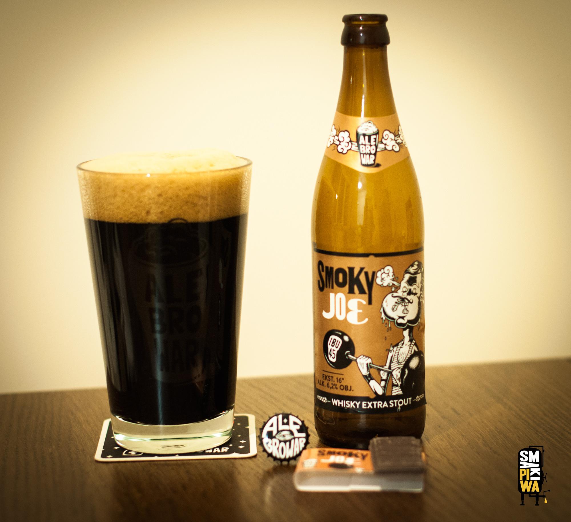 Smoky Joe zpierwszej edycji wraz zczekoladą przygotowaną specjalnie dla tego piwa zdodatkiem słodu dowhisky.