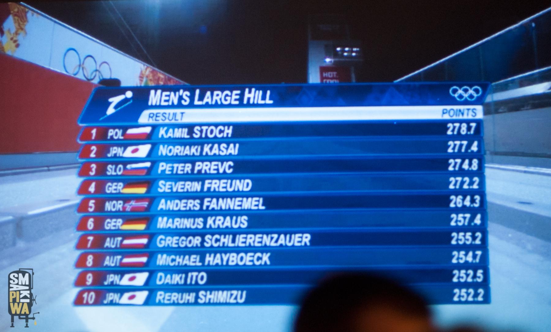 Olimpijskie złoto Kamila Stocha!