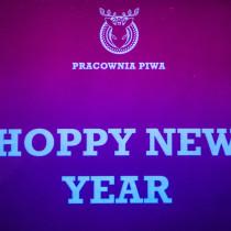 Hoppy New Year czyli życzenia noworoczne od Pracowni Piwa