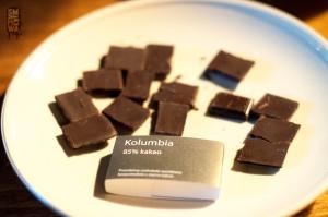 Degustacja czekolad – Kolumbia ociekawym tytoniowym aromacie
