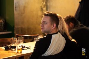 Wykład oczekoladzie - zasłuchany Michał Saks