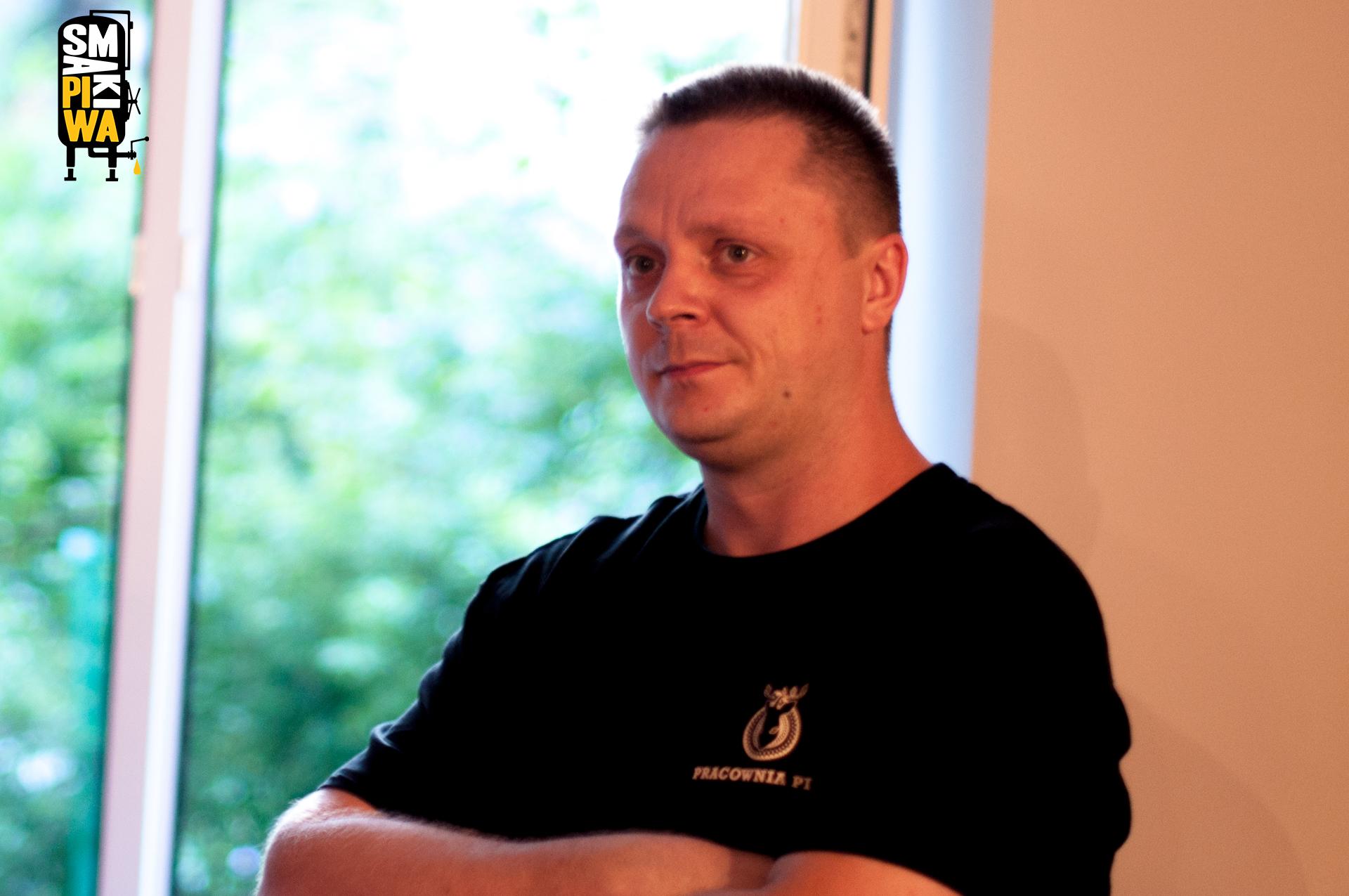 Tomek Rogaczewski, główny współsprawca całego zamieszania