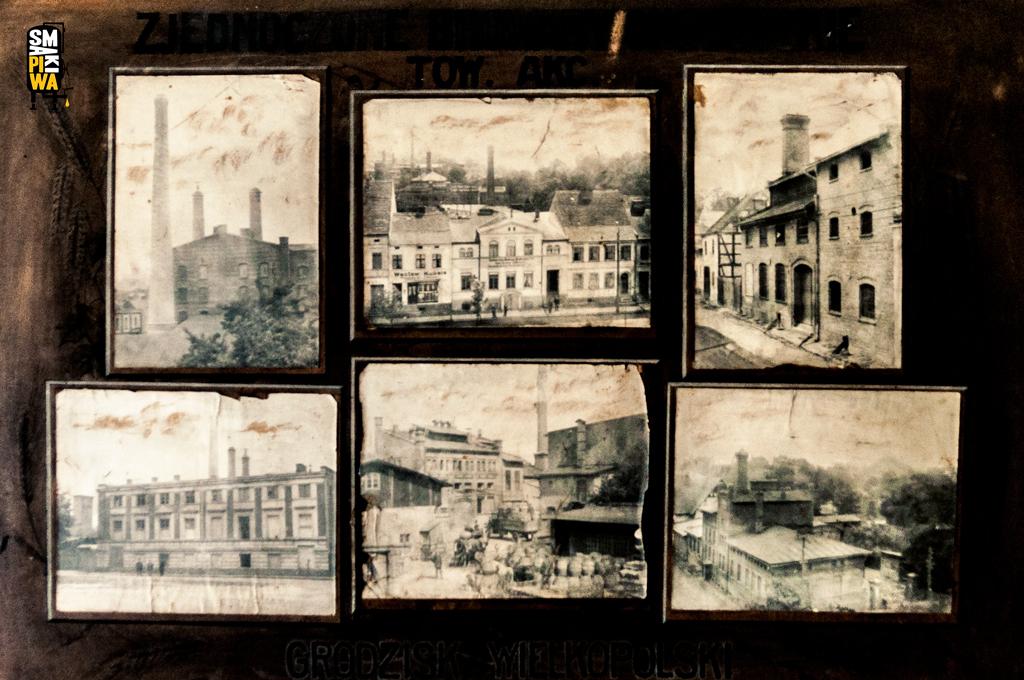 Fotografie browarów należących do Towarzystwa Akcyjnego Zjednoczonych Browarów Grodziskich. Fotografie ze zbiorów Mariana Bochyńskiego.