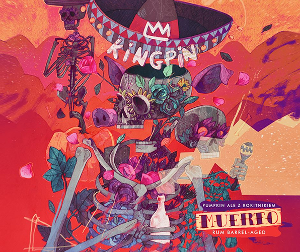 Browar Kingpin Muerto Rum BA