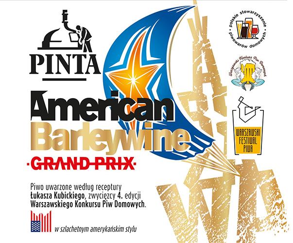 PINTA Grand Prix American Barley Wine