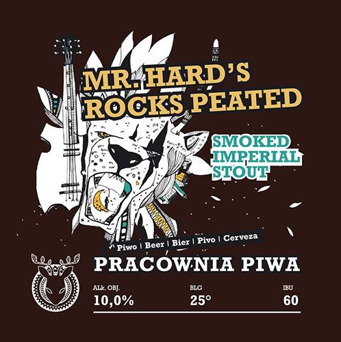 Pracownia Piwa Mr. Hard's Rocks Peated