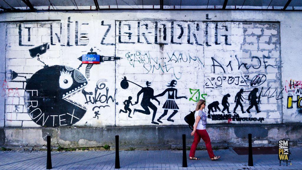 Mural natemat Frontex naul.Ciepłej