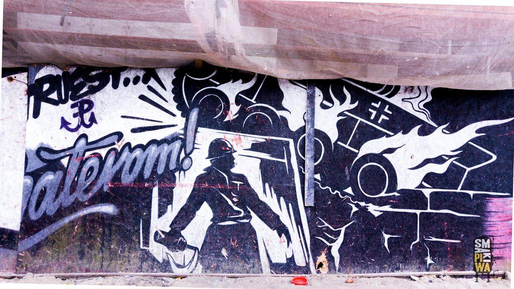 Pozostałe murale przy ul.Siedmiogrodzkiej