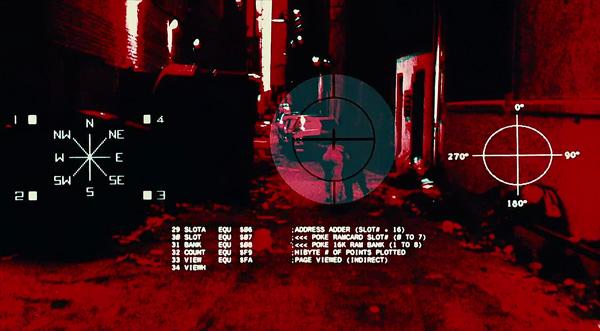 Rozszerzona rzeczywistość wfilmie Terminator z1984 roku.