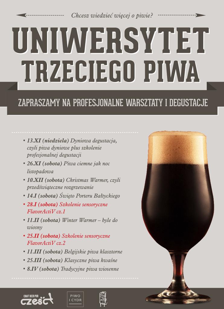 Uniwersytet Trzeciego Piwa - plakat