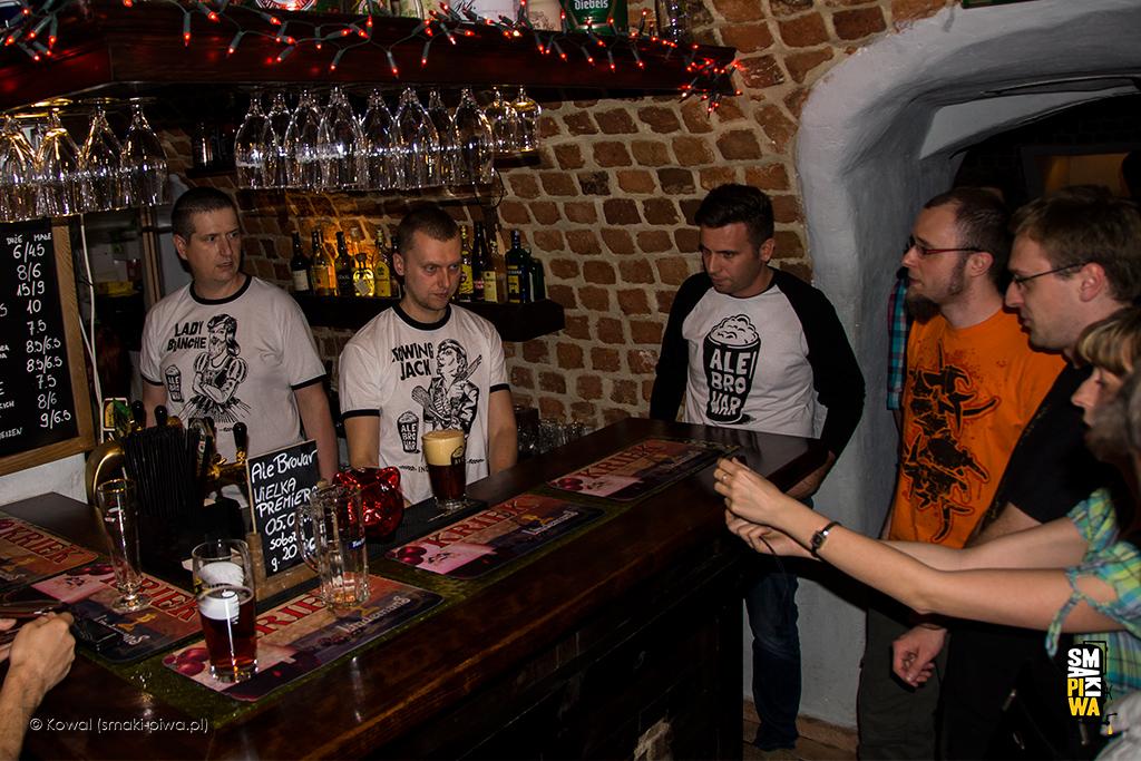 Wielka premiera AleBrowaru wewrocławskim Zakładzie Usług Piwnych