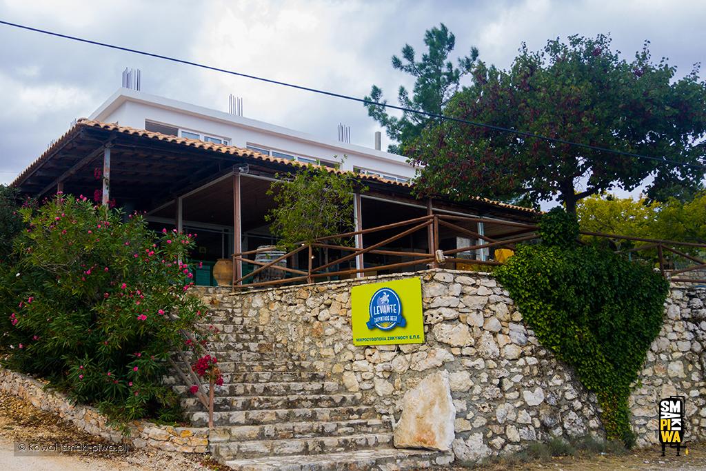 Wejście dobrowaru Levante Zakynthos Beer