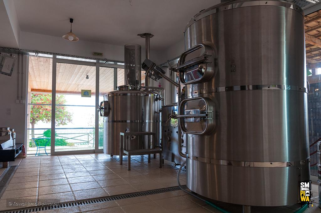 Warzelnia browaru Zakynthos Beer