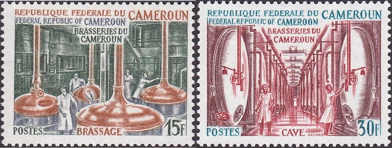 Browar. Kamerun, 1970 (źródło: colnect.com)